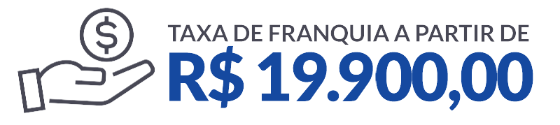 Taxa de franquia a partir de 19.900,00